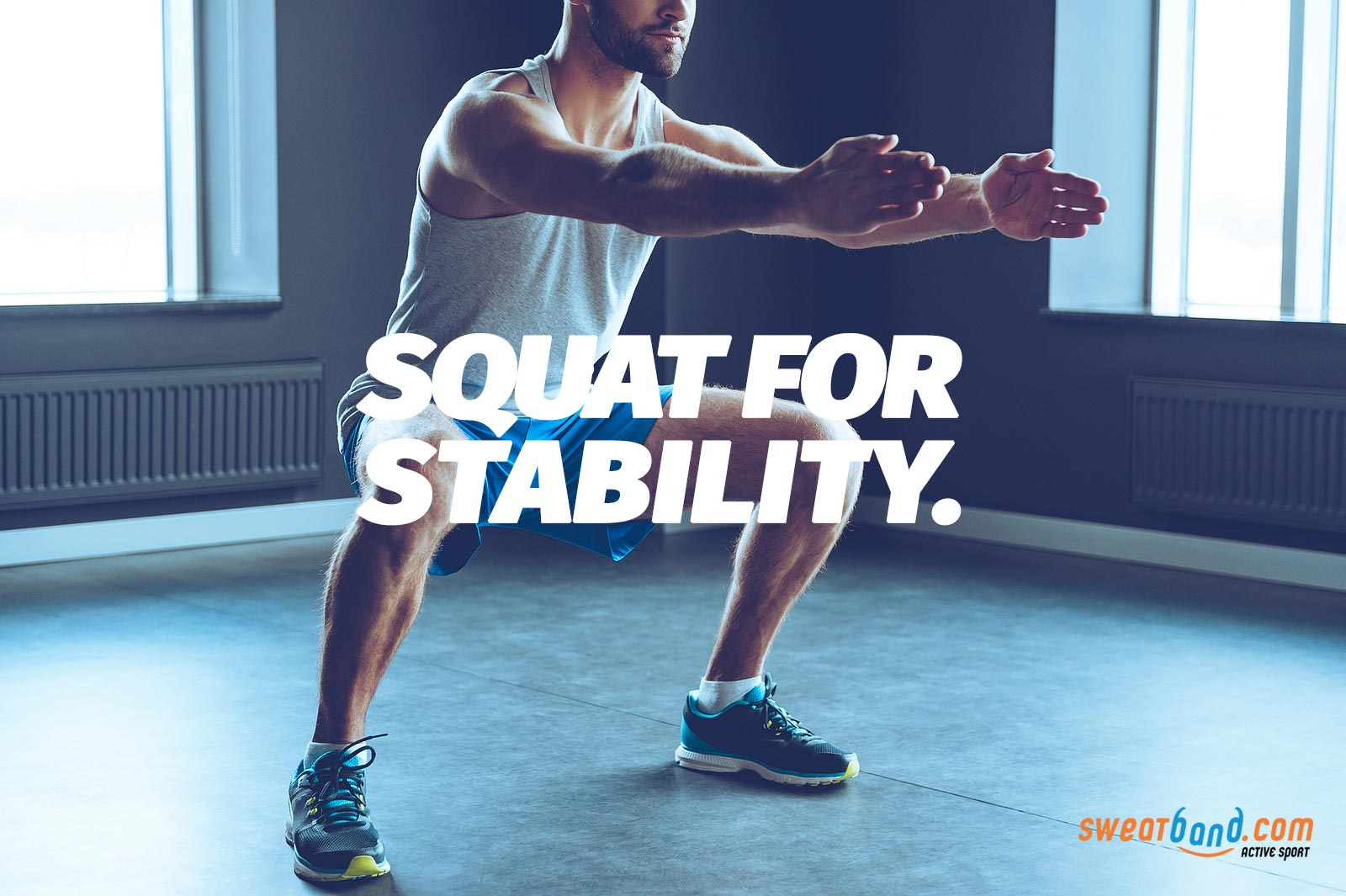 Start squatting to build up strength and stability in you legs for your golf swing