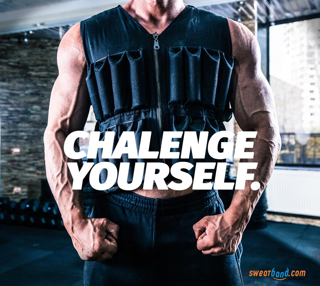 Add some weight to your workouts to really challenge yourself!