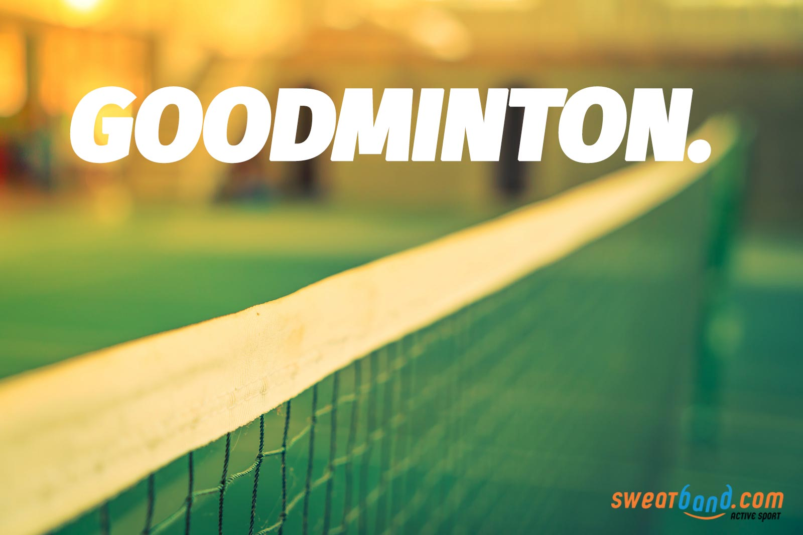 Time to think of badminton as GOODminton!