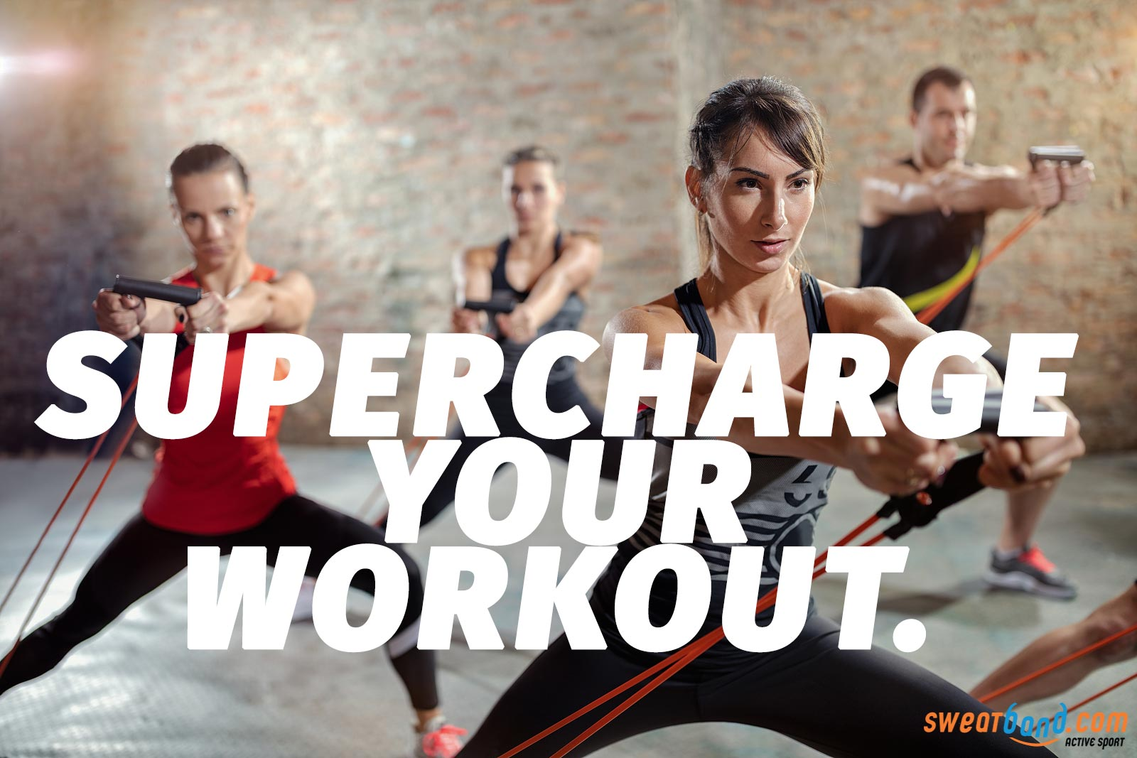 Supercharge your workout using resistance bands!