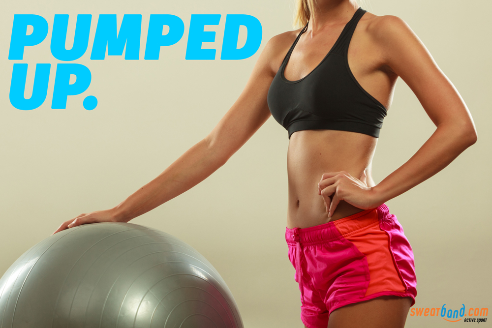 Get pumped up like a gym ball!