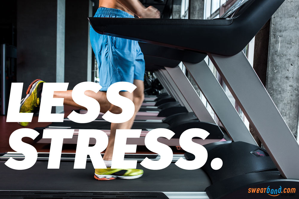 Having the right running technique and running on a treadmill help reduce impacts and stress on your body
