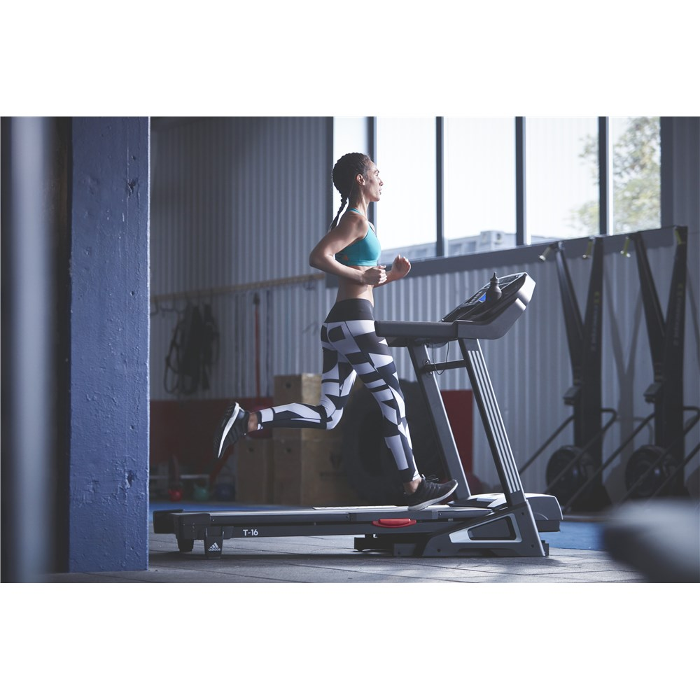 Keep your workout interesting on the adidas T-16 treadmill
