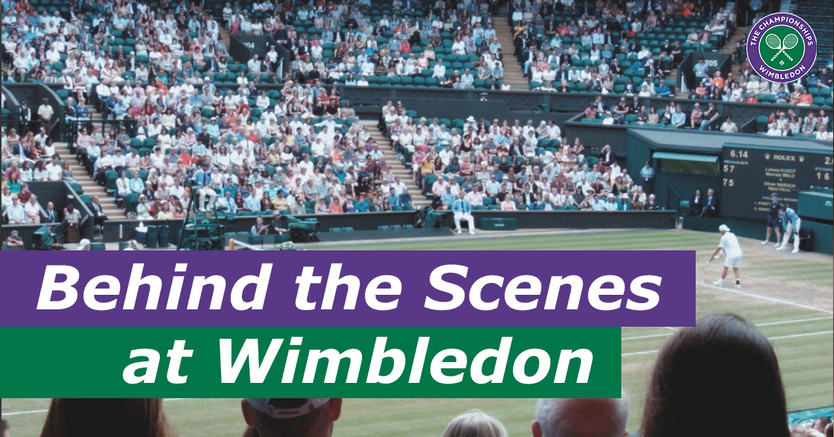 Tennis Stringing Machine >> Behind The Scenes At The Wimbledon Championships Stringing ...
