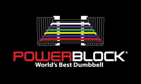 The New PowerBlock Sport 90 EXP Adjustable Dumbbell - 16 Dumbbells In 1!