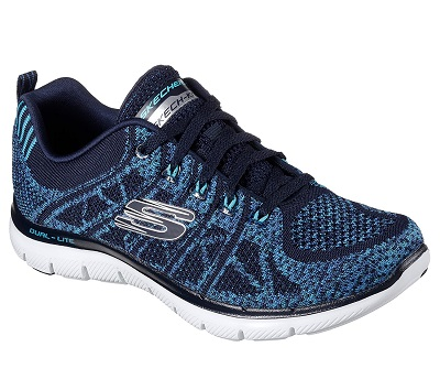 Skechers AW17 Flex Appeal 2.0 New Gem Ladies Training Shoes