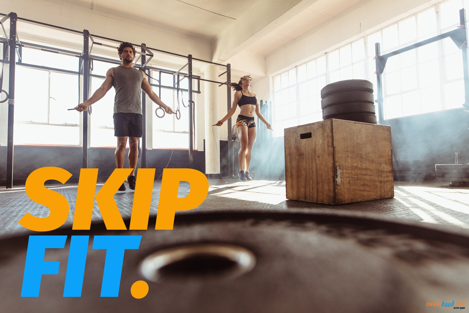Skip like a boxer to get fitter